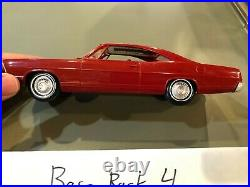 1967 Ford Galaxie XL Dealer Promo Scale Model Red High Grade