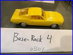 1967 Ford Mustang 2 2 Dealer Promo Scale Model Yellow High Grade