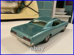 1967 Pontiac GTO Turquoise Dealer Promo Model Car