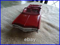 1969 CHEVROLET IMPALA CONV PROMO WithBOX REAL MINT GARNET RED WOW