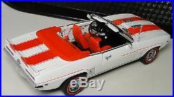 1969 Camaro Chevrolet Car Chevy Built 1 SS 12 RS 24 Carousel Orange 25 Model 18