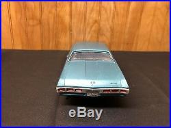 1969 Chevy Impala SS Big Block Dated Bumpers Blue & BLK MPC AMT 1/25 Johan Model