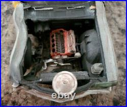 1970 Monte Carlo 125 Scale AMT Vintage Model Car Kit Wrecked Barn Find Custom