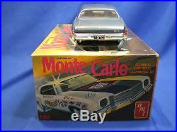1970 Monte Carlo by AMT Full kit Series built factory stock with box # T326