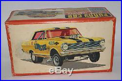 1970's AMT Models Funny Car 1964 Chevy II, Twister 125 SCALE, Original Issue
