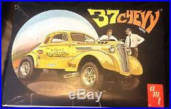 1970s n/m'37 Chevy Coupe hobby model kit AMT hot-rod RAT-rod drag Hubbard