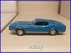 1972 AMT Ford Mustang fastback MINT TRUE promo car EXTRA-Rare 72