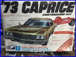 1973 Chevy caprice vintage MPC Kit! LQQK Rare