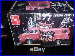 1977 AMT KISS ROCK BAND Custom Chevy Van MODEL KIT 1/25 Signed Gene & Shannon