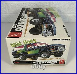 1979 AMT Wild Hoss Ford Bronco Model Kit 1/25 Sealed Bags Lesney Matchbox