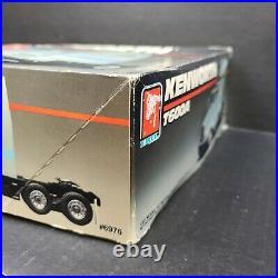 1990 AMT Ertl Kenworth T600A 1/25 Model Kit Vintage