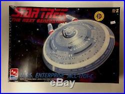 1998 AMT/ERTL 11400 Star Trek The Next Generation USS ENTERPRISE NCC-1701-C
