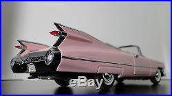 1 1959 Cadillac Built Eldorado 24 Vintage Car Concept 18 Carousel Pink 12 Model