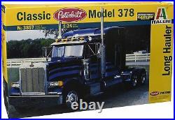 1/24 Scale Peterbilt 378 Long Hauler Model Truck Kit Sealed