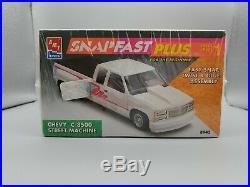 1/25 AMT ERTL Snap Fast Plus Chevy C-3500 Street Machine F/S Original 1993 issue