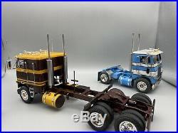 1/25 AMT Freightliner COE Box Art Paint Job Pro Built Museum Quality