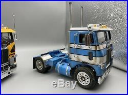 1/25 AMT Freightliner COE Day Cab Box Art Paint Job Pro Built Museum Quality