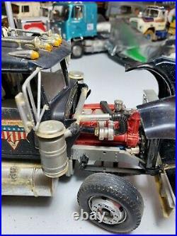 1/25 AMT Kenworth W900 Built Junkyard