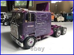 1/25 AMT Mack COE CruiseLiner Superior Fast Freight Junkyard built truck
