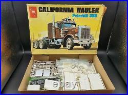 1/25 AMT Peterbilt 359 California Hauler kit #T500 O/C 1973 issue