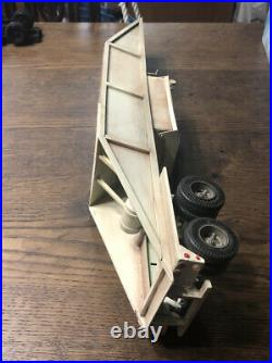 1/25 AMT Scratch Built Belly Dump Trailer Junkyard CPS style