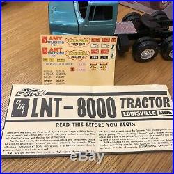 1/25 AMT T504 Ford Louisville Lugger Built Project Junkyard Nice Builder