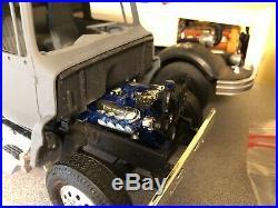 1/25 AMT T515 Ford LN8000 Super Cab Built Project Junkyard Nice Builder