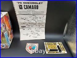 1/25 AMT The All New Camaro SS 396 Kit #Y720 1970 Issue Full Size Emblem RARE