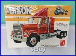 1/25 AMT Vintage Chevy BISON Model Truck Kit 6641 FACTORY SEALED