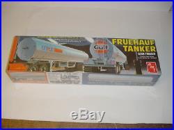 1/25 AMT Vintage GULF Fruehauf Tanker Semi-Trailer Kit Sealed! New Old Stock