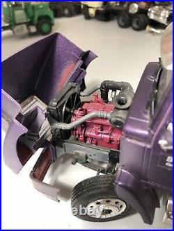 1/25 AMT Western Star Steelcase Inc Junkyard built purple truck