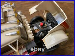 1/25 AMT White Western Star Custom Built Drop Deck Trailer 310 John Deere Hoe