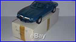 1/25 Amt 1974 Pontiac Firebird Formula Gulf Mist Aqua Promo B8