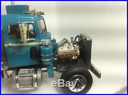 1/25 Built DETAILED! Model Truck Amt Peterbilt California Hauler Weathered