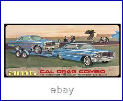 1/25 CAL DRAG Combo Ford Galaxy & Falcon & Trailer Plastic Model Pre-order 2.28