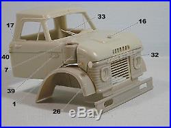 1/25 Ford N 950 model 1964 Resin cab conversion for AMT kit limited edition #60