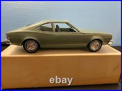1/25 Jo-han Dealer Promo Car 1974 Amc Hornet Metallic Silver Green Original Box