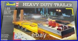 1/25 Scale Revell Heavy Duty Trailer Kit 3 Axle Low Profile #07533