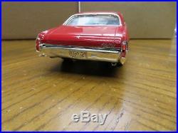 1/25 Vintage Amt Motor City 1970 Chevrolet Monte Carlo Pro Built Model
