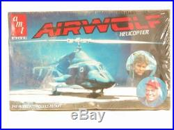 1/48 AMT ERTL Airwolf Helicopter RARE SEALED Scale Model Kit Vintage NOS 6680
