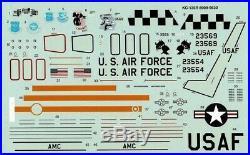 1/72 AMT 8909 KC-135R Stratotanker (CFM56 Engines)