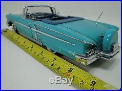 1 Chevy 1950s Chevrolet Built Vintage 24 Sport Car 25 Model 18 Carousel Blue 12