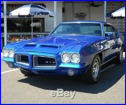 1 GTO Pontiac Built 1970s Sport Car Race 25 Vintage 12 Carousel Blue 24 Model 18