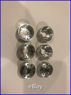 22 Inch Aluminum Wheels With Top Hats For Amt Ertl Revell Italeri