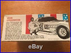 2 John Greenwood Championship Corvette Model Race Car Kits