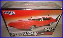3 1969 Dodge Daytona Charger 125 SEALED model kits MPC AMT Ertl Revell'69 wing