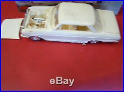 3 Vintage 1963 63 62 1962 AMT CHEVY II NOVA 2 CONVERTIBLE 1 HARDTOP MODEL KITS