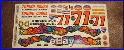 47 year old AMT 1971 Ford Torino Cobra 3in1 customizing kit 100% & unbuilt