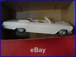 4 Model Kits Amt 1961 61 62 Chevy Convertible 1962 Impala Hardtop Corvar Barris