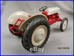 50+ year old AMT Ford 8N Tractor 9 long 1/12 Scale plastic promo original box